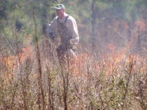 Prescribed Burn Texas Property